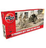 17 Pounder Anti-Tank Gun & Crew