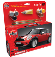 Airfix BMW MINI Cooper S Starter Set (1:32 Scale)