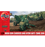 Bren Gun Carrier And 6PDR Anti-Tank Gun (Scale 1:76)