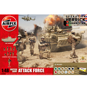 British Army Attack Force Gift Set (Scale 1:48)