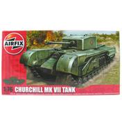 Airfix Churchill MKVII Tank (Scale 1/76)
