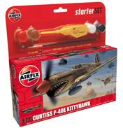 Curtiss P-40E Kittyhawk Gift Set