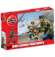 Airfix WWII German Paratroopers (1:32 Scale)