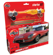 "Airfix Jaguar ""E"" Type Starter Set (1:32 Scale)"