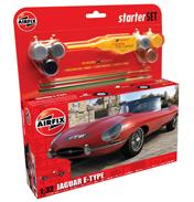 "Airfix Jaguar ""E"" Type Starter Set (1:32 Scale)"