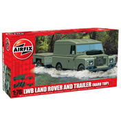 LWB Landrover Hard Top & Trailer