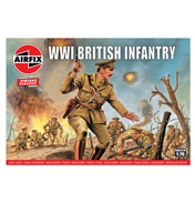 WWI British Infantry (Scale 1:76)