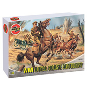 WWI Royal Horse Artillery 1:72
