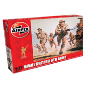 WWII British 8th Army (Scale 1:72)