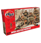 WWII British Infantry (Scale 1:72)