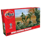 WWII German Infantry (Scale 1:72)