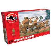 WWII U.S. Marines (Scale 1:72)