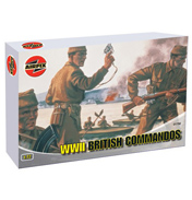 Airfix WWII British Commandos (Scale 1:72)