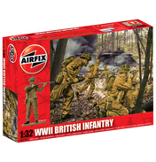 Airfix WWII British Infantry (1:32 Scale)
