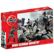 Airfix WWII German Infantry (1:32 Scale)