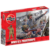 WWII US Paratroopers 1:32