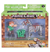 Minecraft Alex with Skeleton Horse Pack (Series 3)