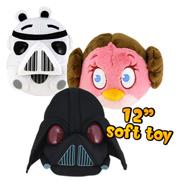 "Angry Birds Star Wars 12"" Darth Vader Plush"