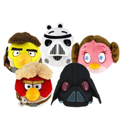 "Angry Birds Star Wars 8"" Storm Trooper Plush"