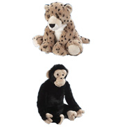 "Animal Planet 18"" Large Plush Chimpanzee with…"