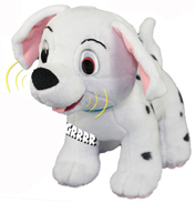 "Anipets 101 Dalmations 7.5"" Bark 'n Howl Penny"