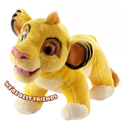 "Anipets Lion King 9"" Talking Simba"