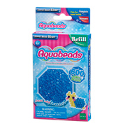 Blue Jewel Bead Refill Pack