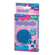 Blue Solid Bead Refill Pack