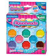 Aqua Beads Jewel Bead Refill 800 Bead Pack