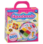 Aqua Beads Mini Play Set 300 SOLID BEADS
