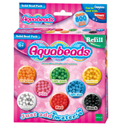 Aqua Beads Solid Bead Refill 800 Bead Pack