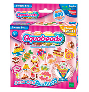 Aqua Beads Sweets Set Theme Refill