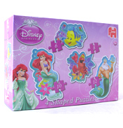 Ariel 4 in 1 Shaped Puzzle