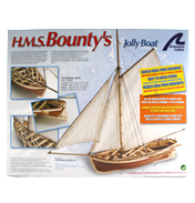 H.M.S Bountys Jolly Boat (Scale 1:25)