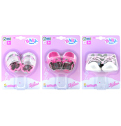 Baby Born Trendy Shoes SILVER