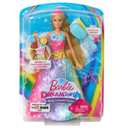 Barbie Dreamtopia Rainbow Cove Princess Doll…