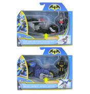 Batman Figure & Vehicle Set CHOPPER &…