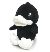 B.Duck Big 30cm Black Plush Duck