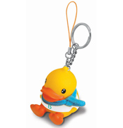 B.Duck Yellow Duck Keychain