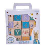 Beatrix Potter PETER RABBIT ABC Wooden Blocks