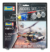 Bell UH-1H Gunship Model Set