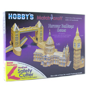 Hobby's Matchcraft Big Ben Matchstick Model…