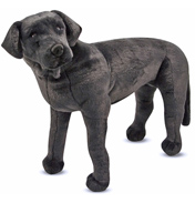 Black Labrador Plush
