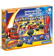Blaze and The Monster Machines Interactive Quiz Puzzle