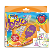 Blendy Pens Blasta Junior Airbrush #2 (PURPLE…