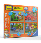 Puzzles | Bob the Builder 4 in a Box
