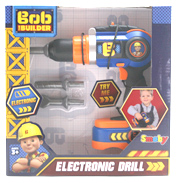 Bob The Builder Electronic Toy Drill