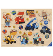 Ravensburger Bob the Builder Wooden Play Tray