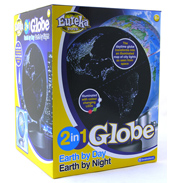 2 in 1 Globe Earth by Day Earth by Night
