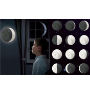 Brainstorm Eureka Remote Control Illuminated Moon